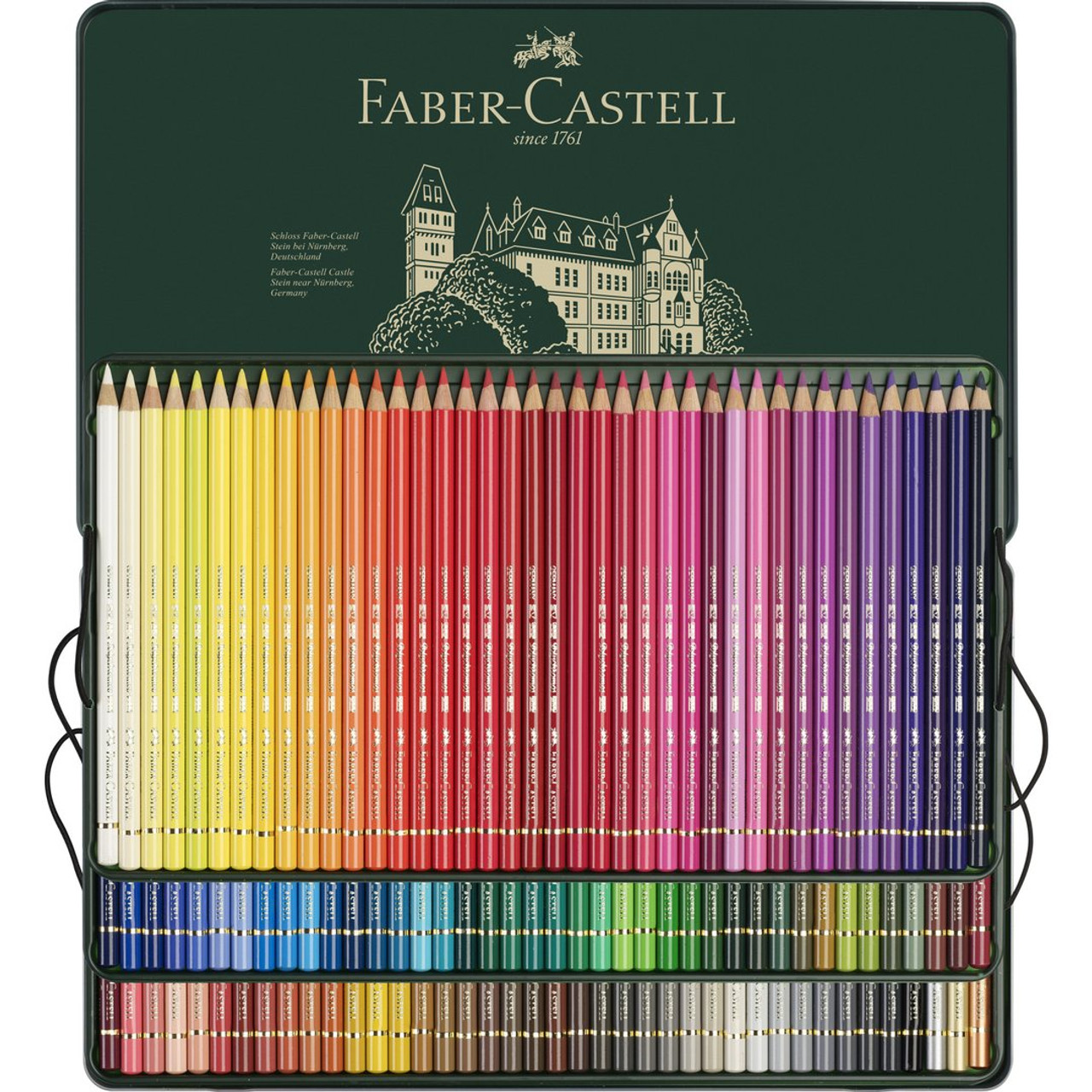 Polychromos Colored Pencil Tin Set 120-Colors