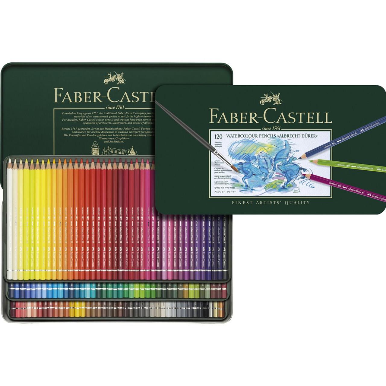 Albrecht Durer Watercolor Pencil Tin Set 120-Colors