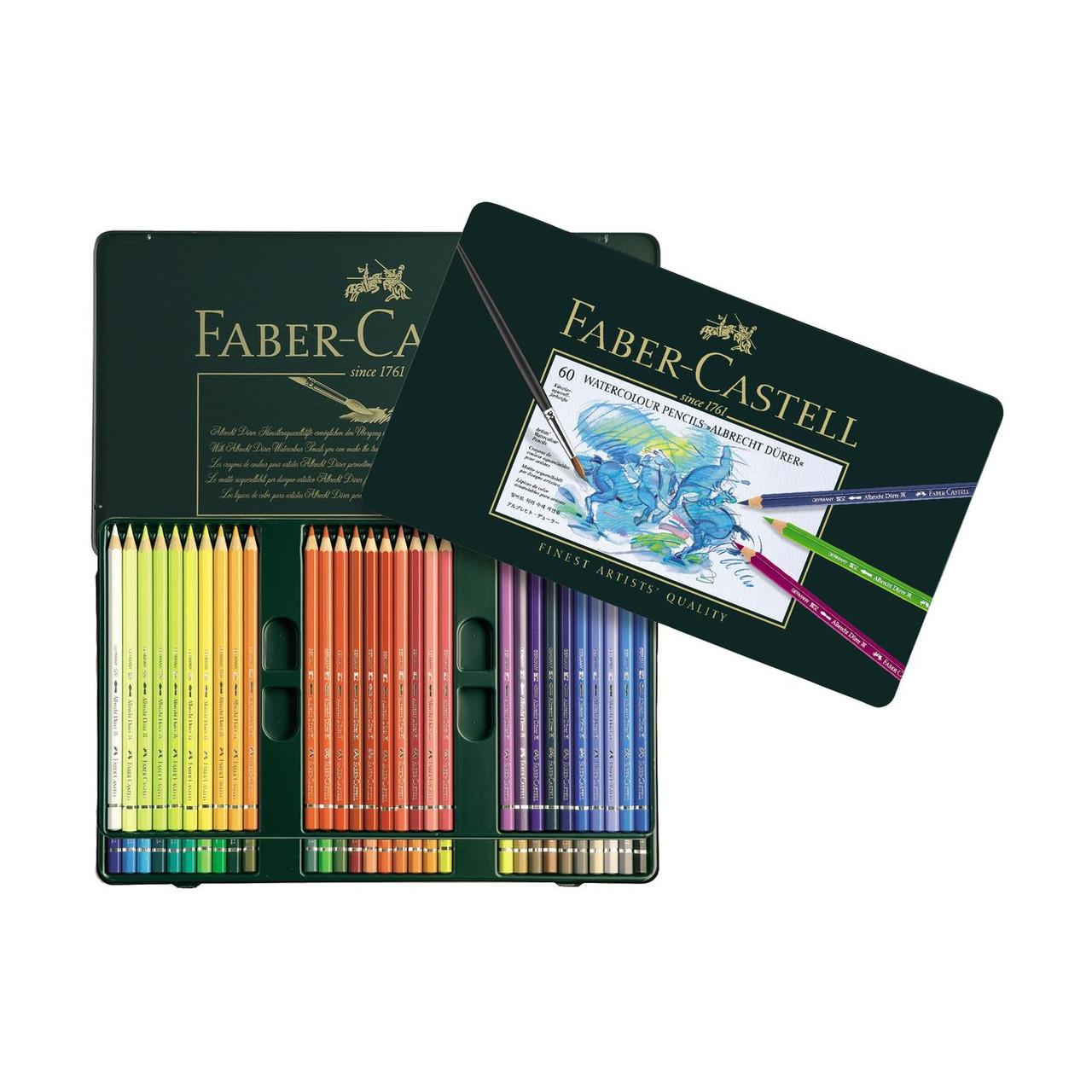 Albrecht Durer Watercolor Pencil Tin Set 60-Colors