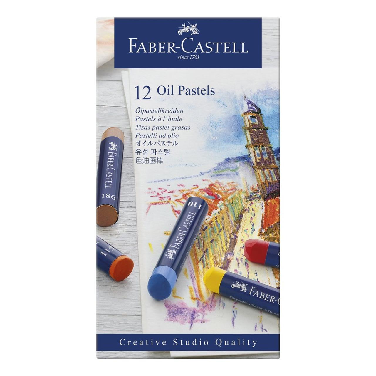 Creative Studio Oil Pastel Set 12-Colors