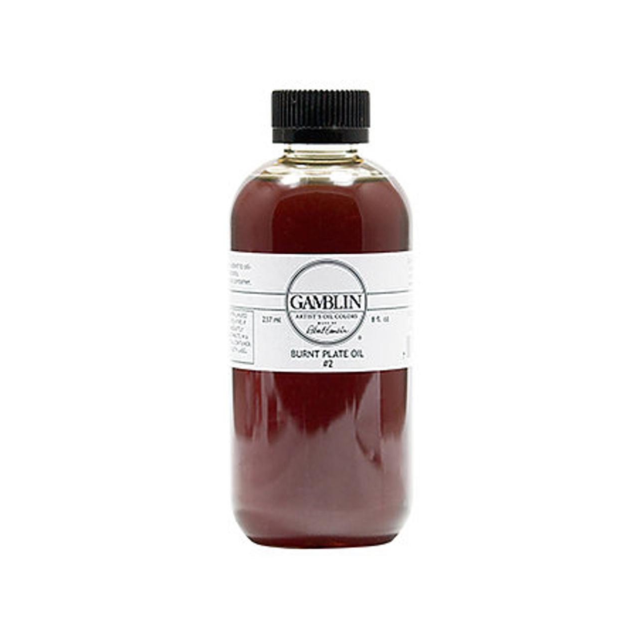 Gamblin Burnt Plate Oil #2