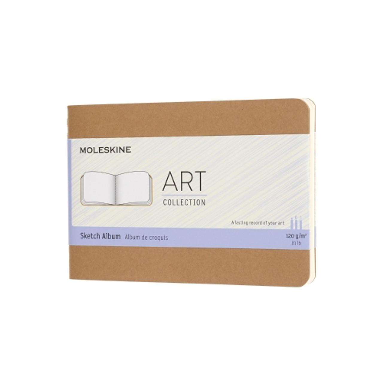 "Moleskine Sketch Large Paper 5"" x 8.25"" Kraft"