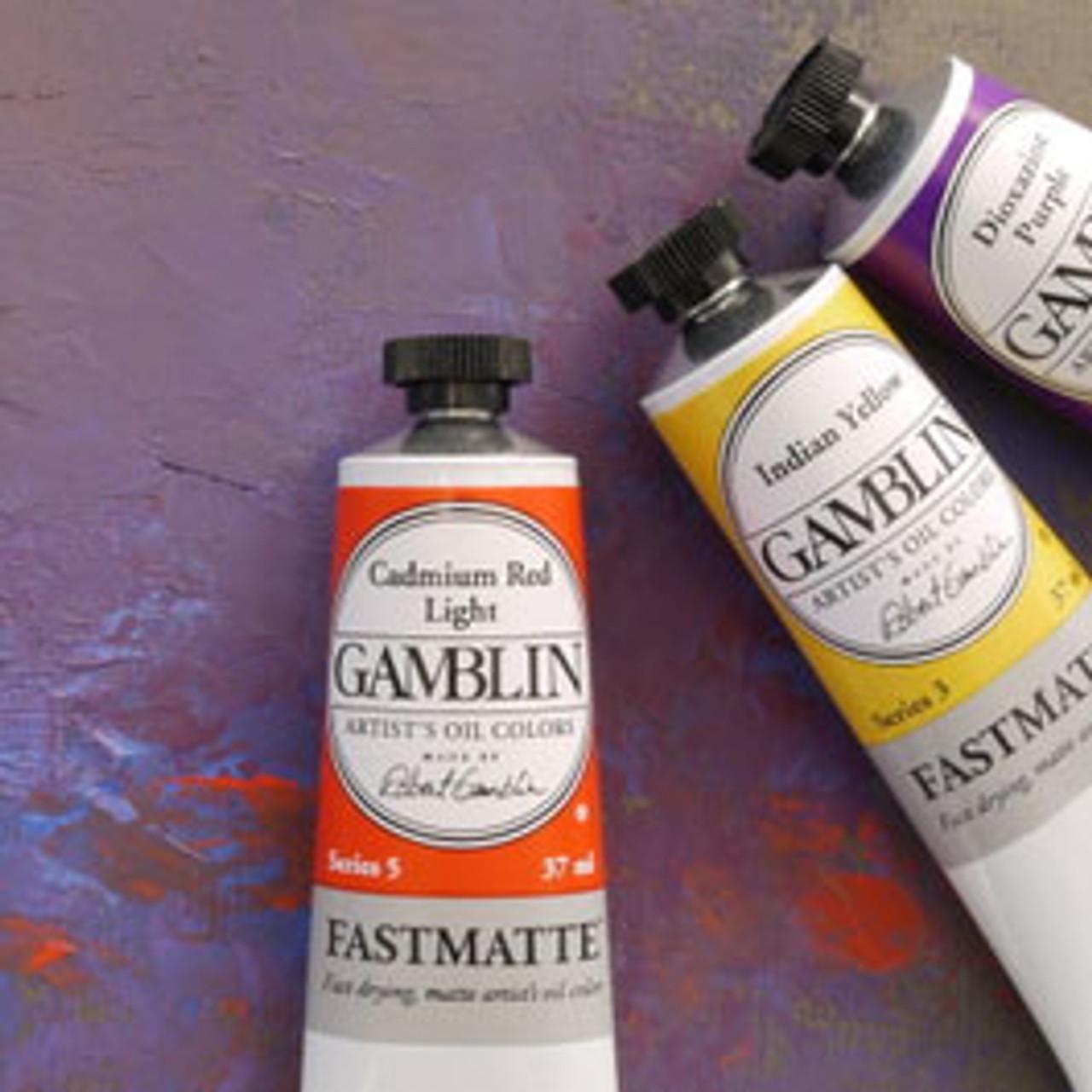 Gamblin Fastmatte Alkyd Oil Color