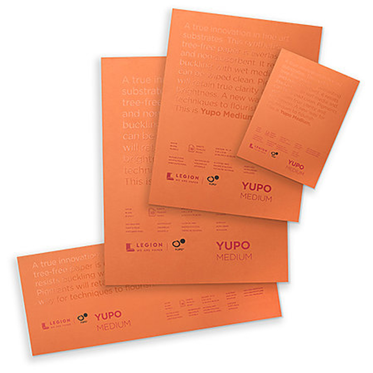 Yupo Medium Watercolor Pad, 10 Sheets