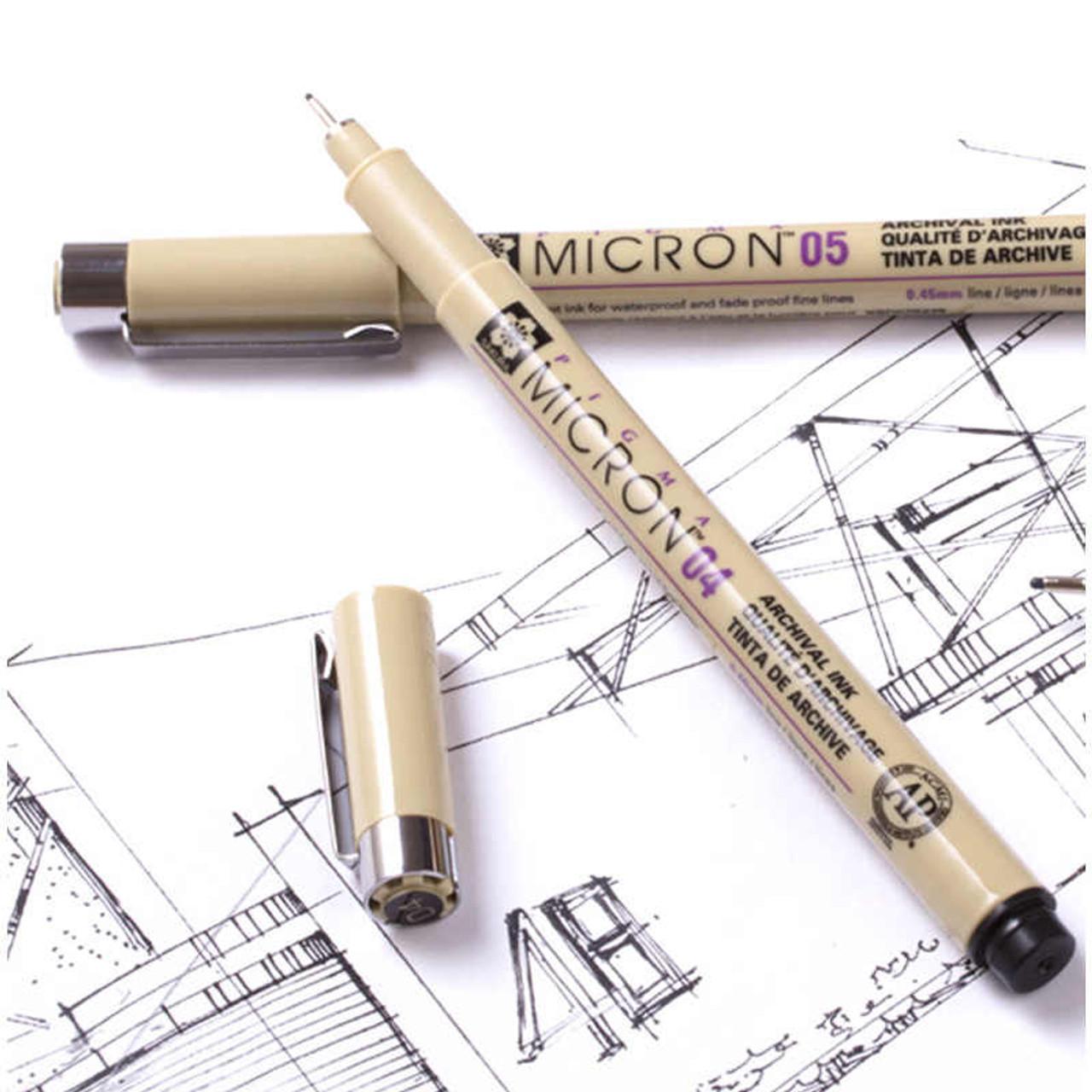 Micron Pen Black
