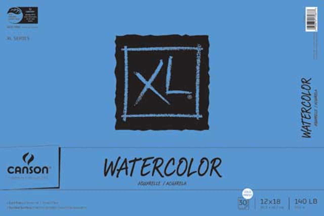 Canson XL Watercolor 140# Cold Press Pad