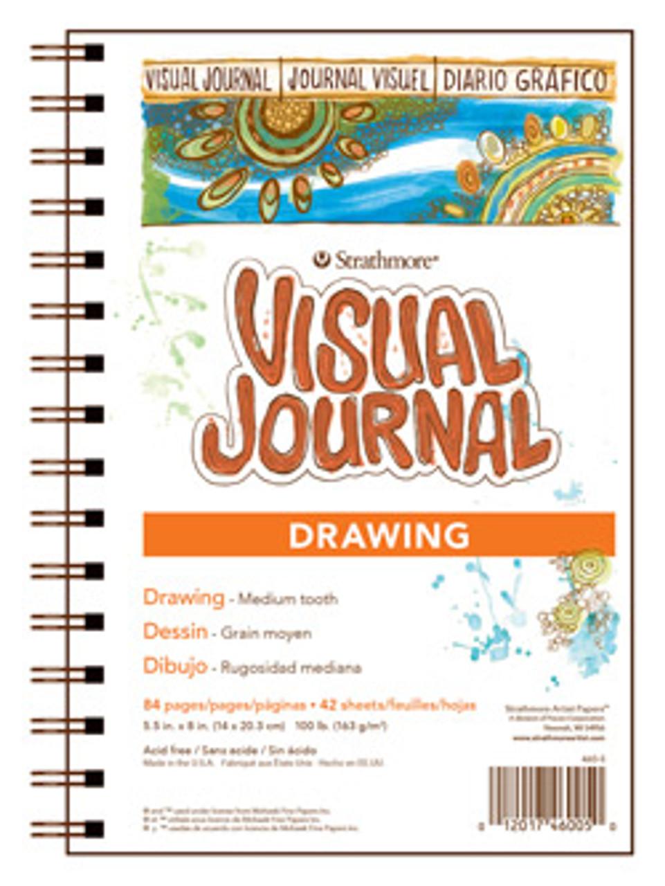 Visual Journal Drawing 9 x 12