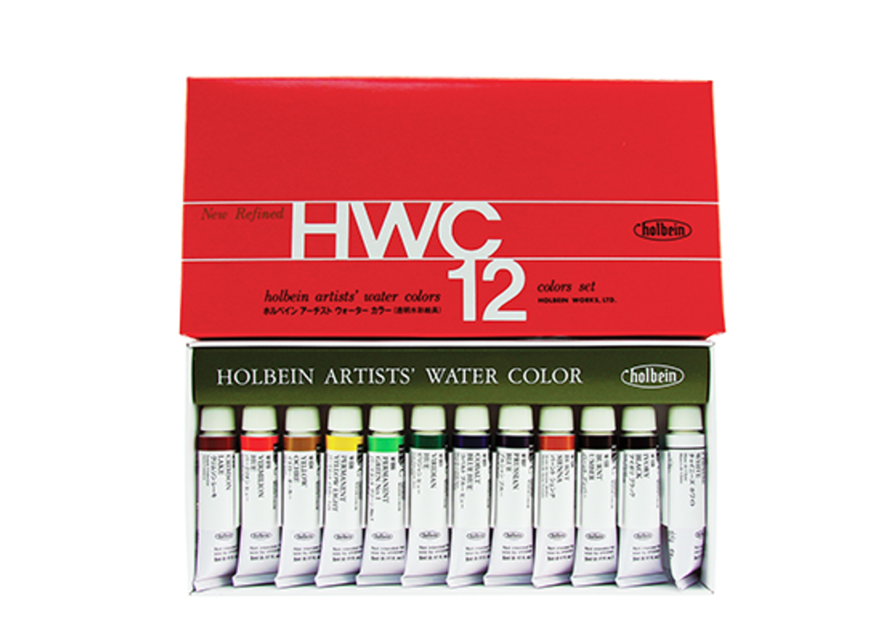 Holbein Watercolor Set 12pc