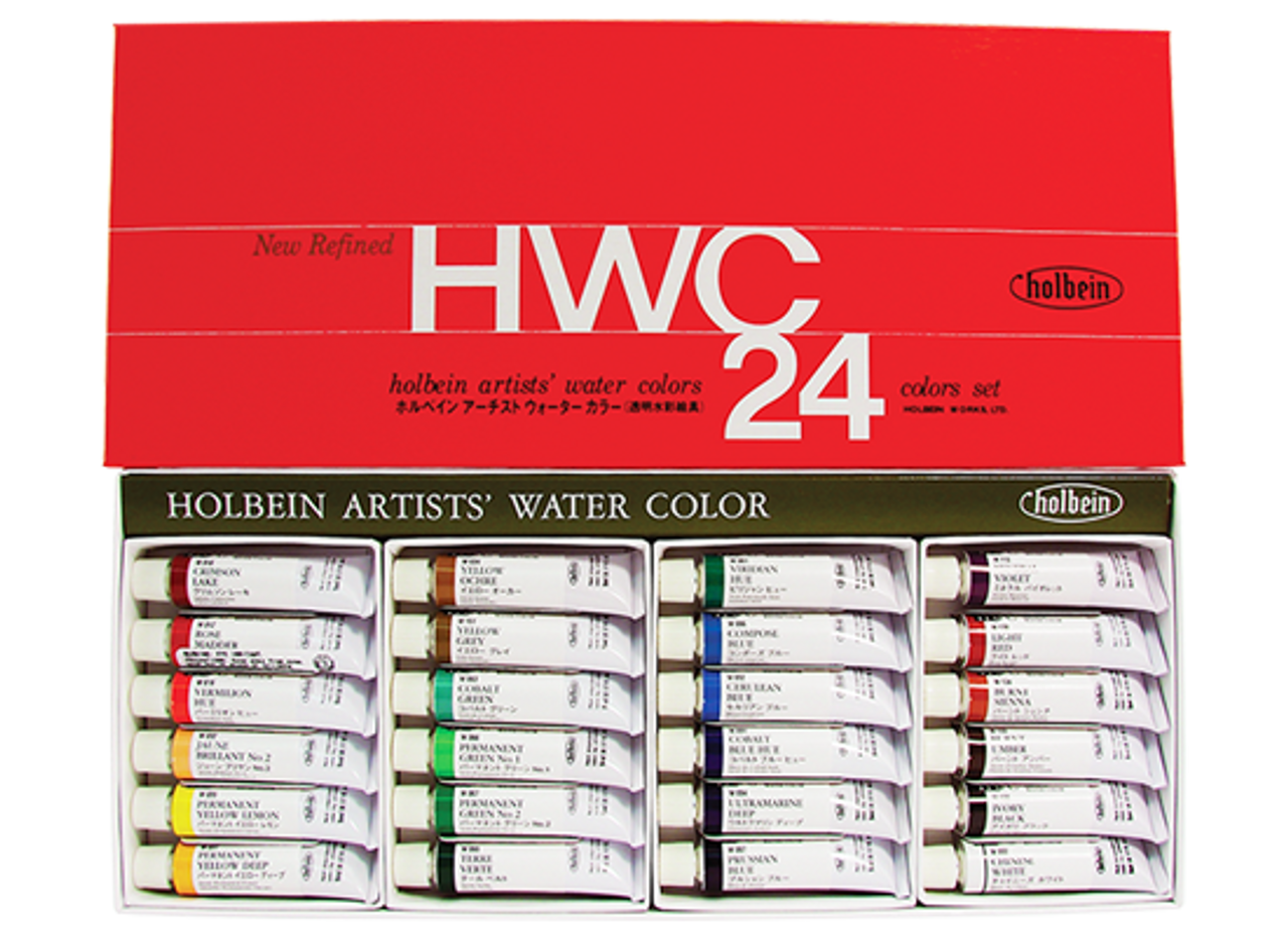 Holbein Watercolor Set 24pc