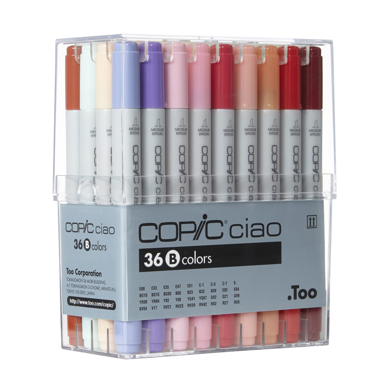 Copic® Ciao Marker 36 Piece Set