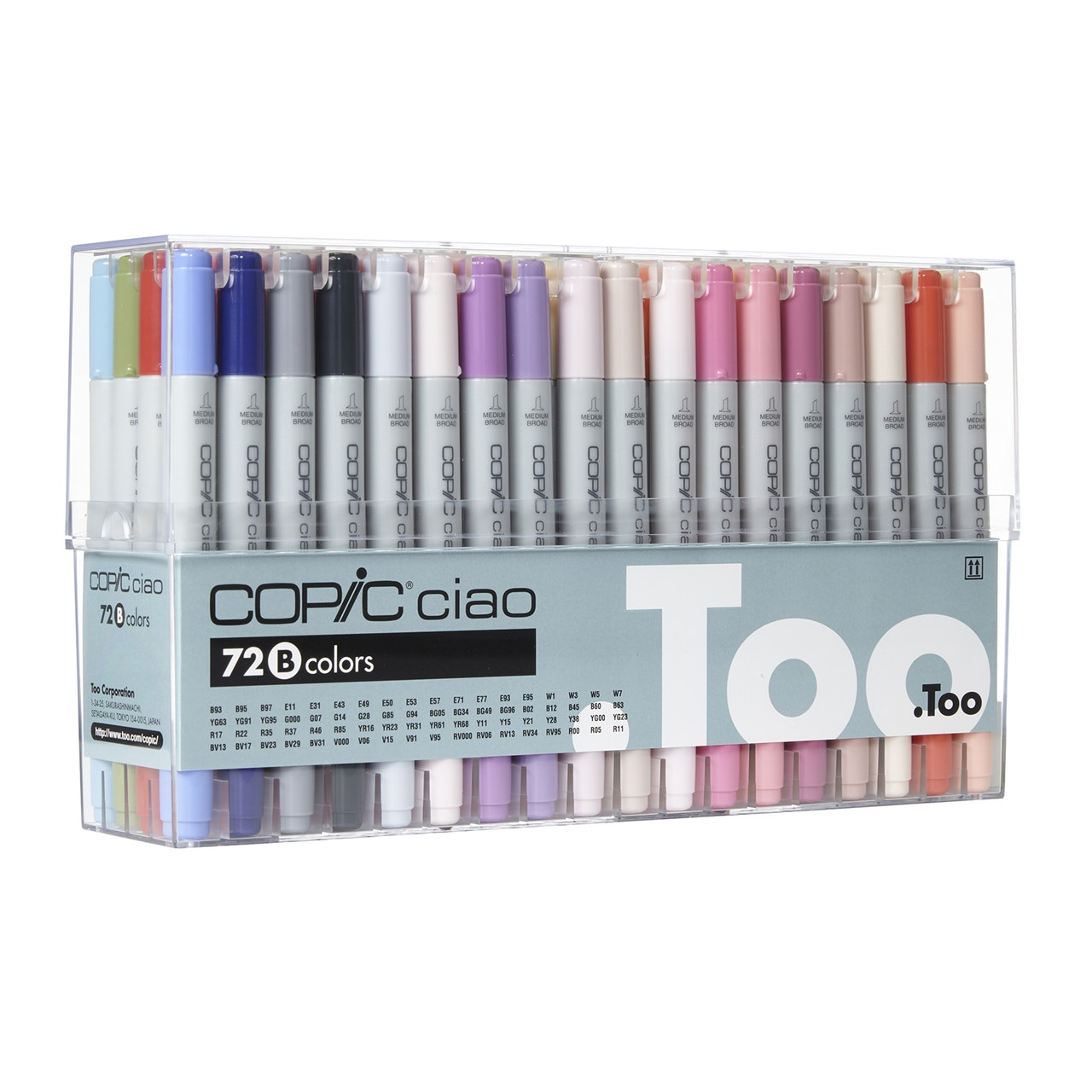 Copic® Ciao Marker 72 Piece Set