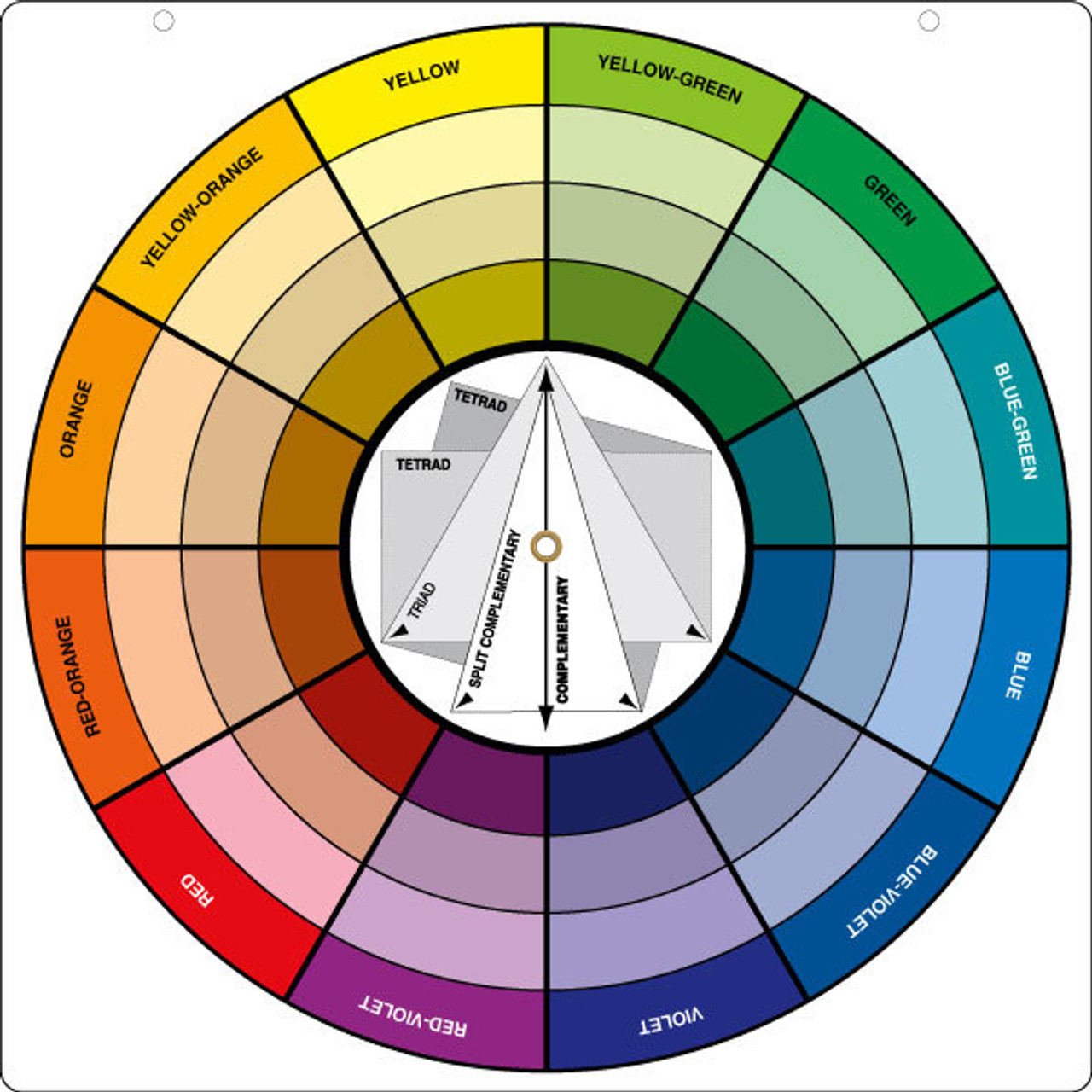 The Big Wheel Color Wheel
