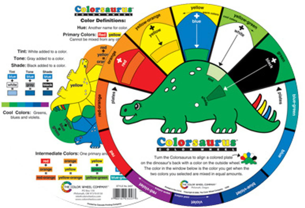 Colorsaurus Color Wheel