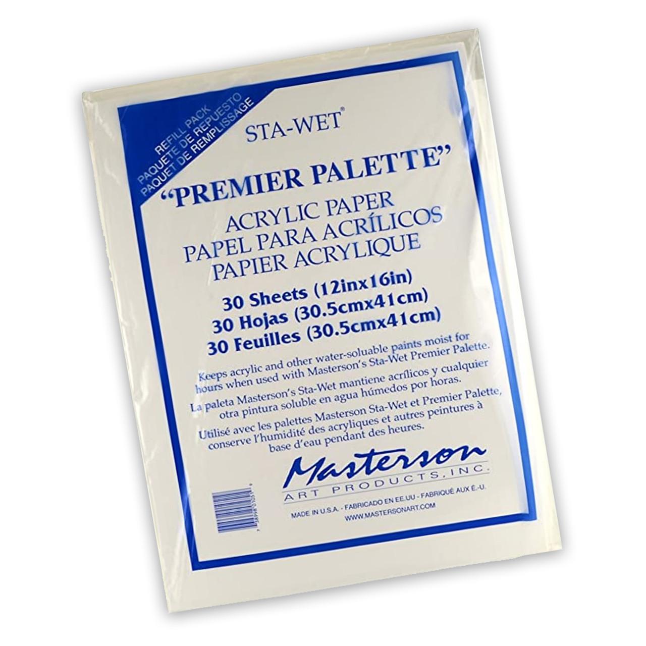 Sta-Wet Palette Acrylic Paper Refills