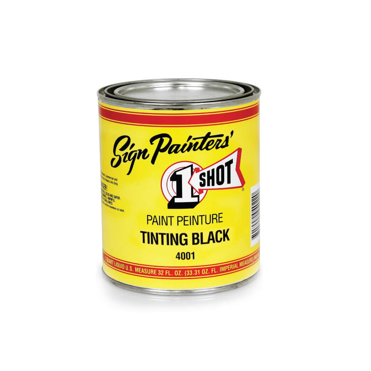 1-Shot Tinting Black