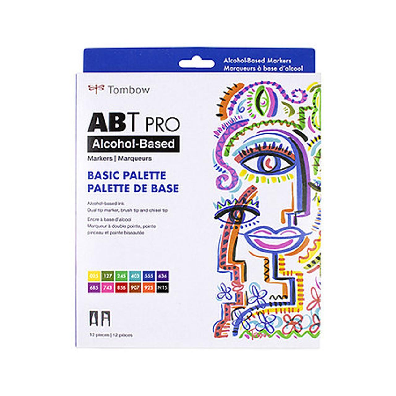 ABT PRO Brush 12-marker Set