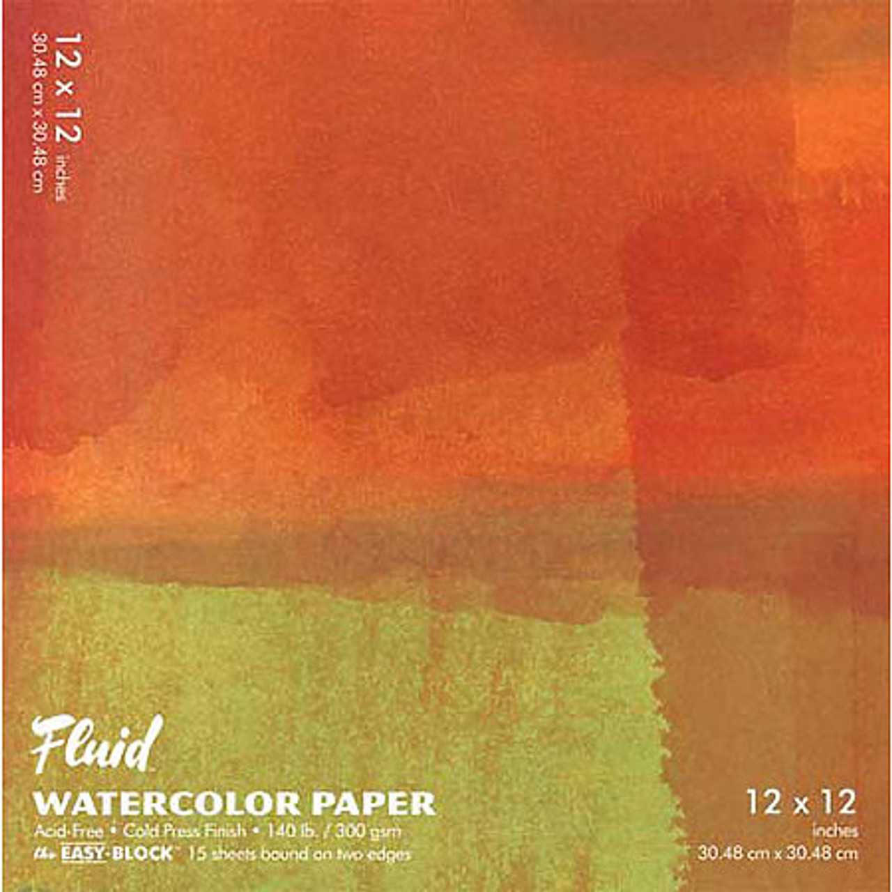 Fluid Watercolor Paper Easy-Blocks