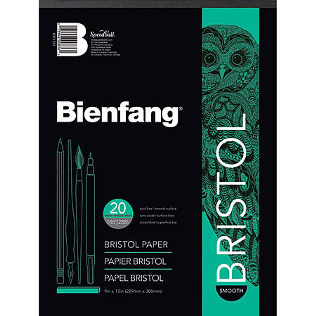 Bienfang White Drawing Bristol Pad