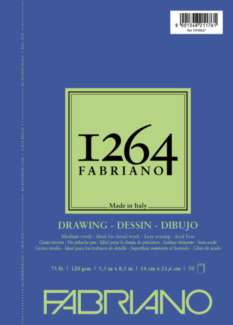 Fabriano 1264 Drawing Pad