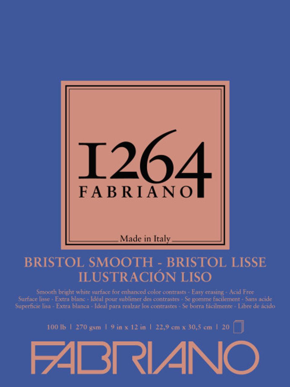 Fabriano 1264 Smooth Bristol Pad