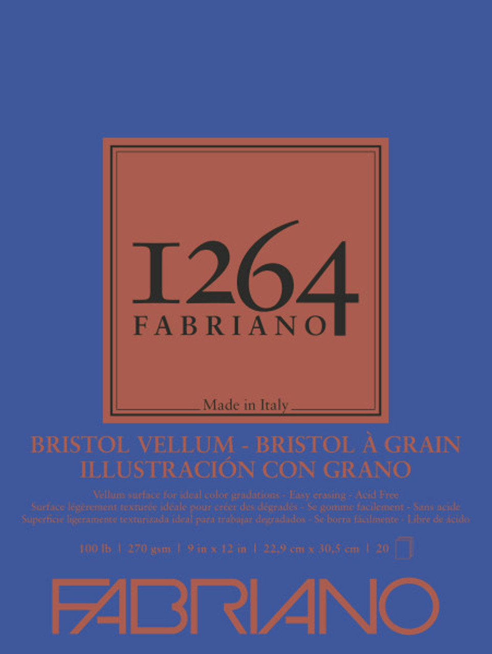 Fabriano 1264 Vellum Bristol Pad