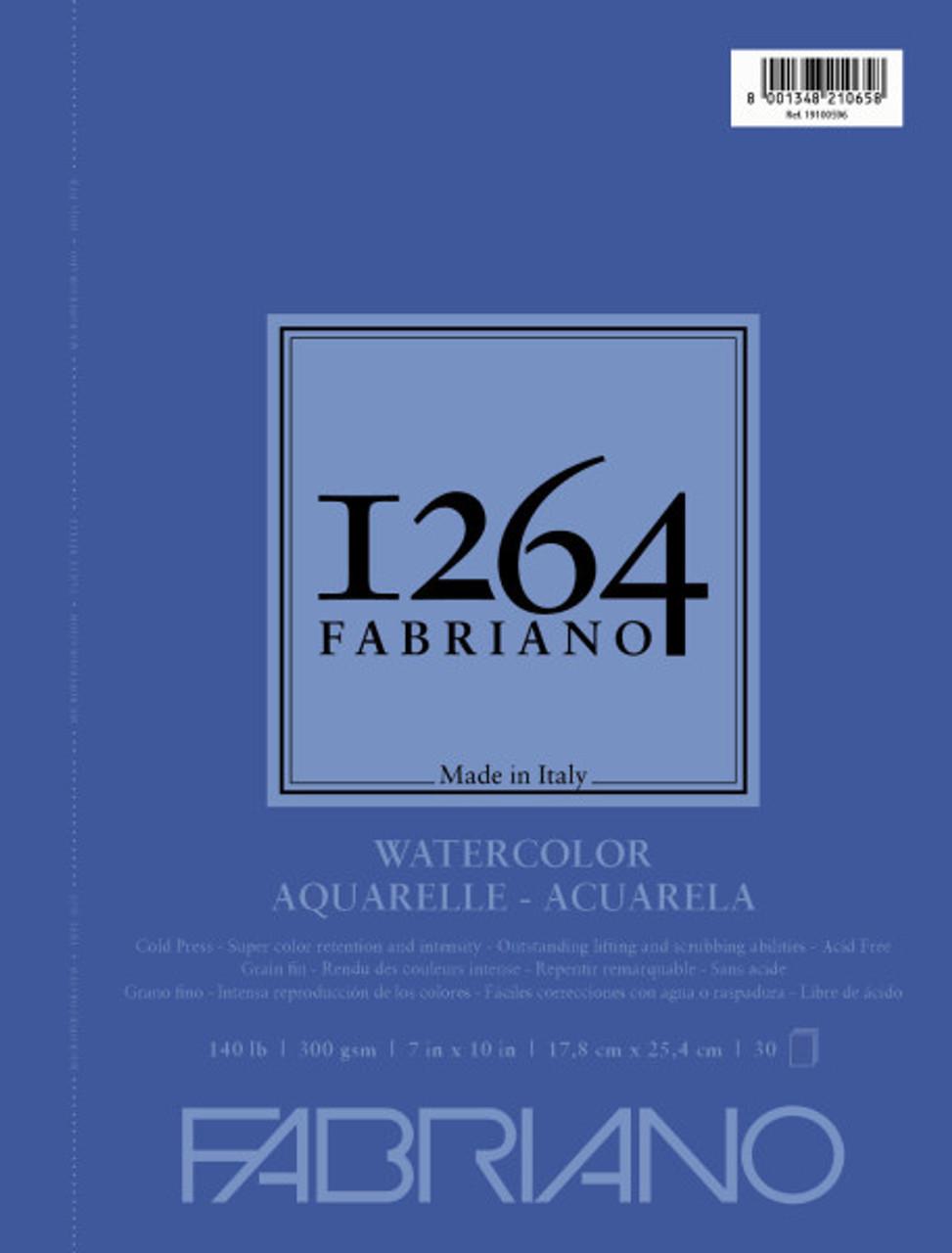 Fabriano 1264 Watercolor Pad