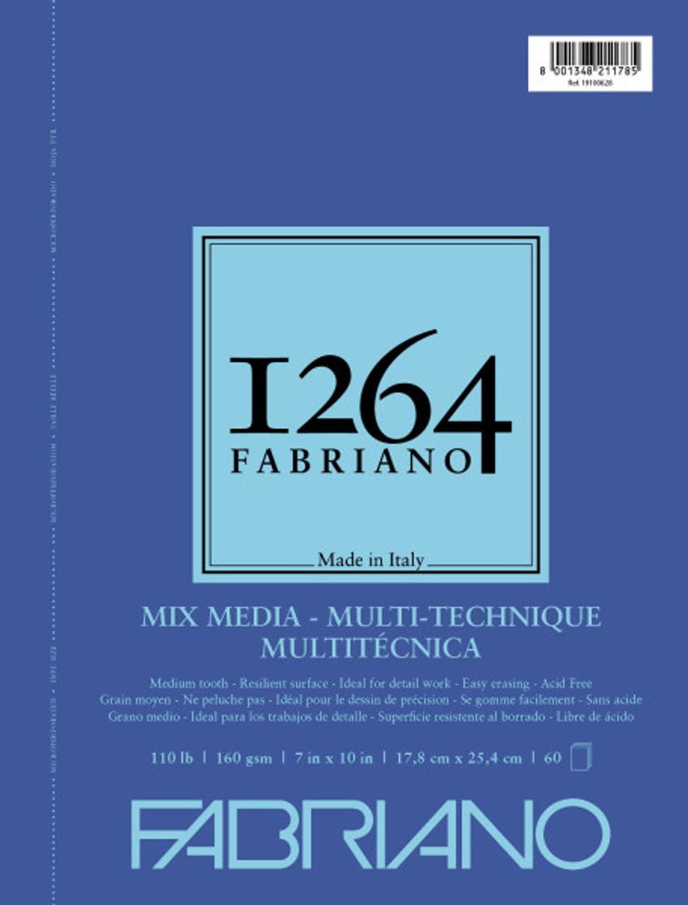 Fabriano 1264 Mixed Media Pad