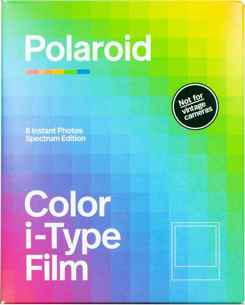Polaroid i-Type Film Spectrum Edition
