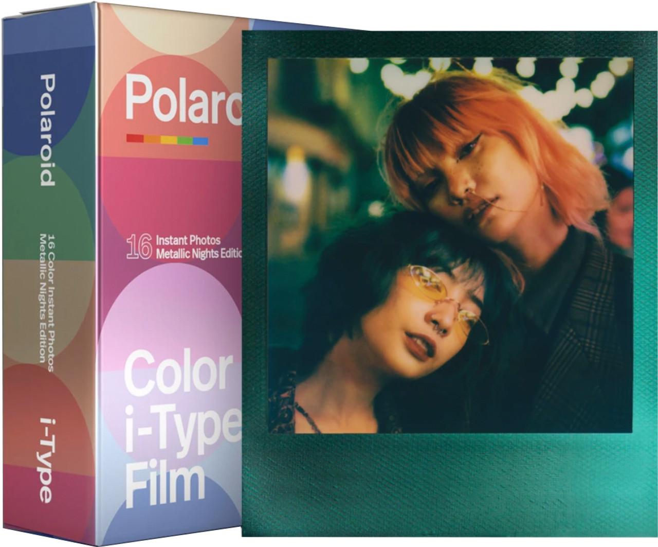 Polaroid Color Film for i-Type Metallic Nights Edition 16pk