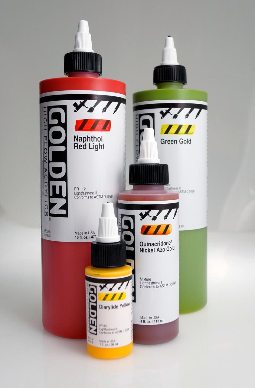 Golden High Flow Acrylics