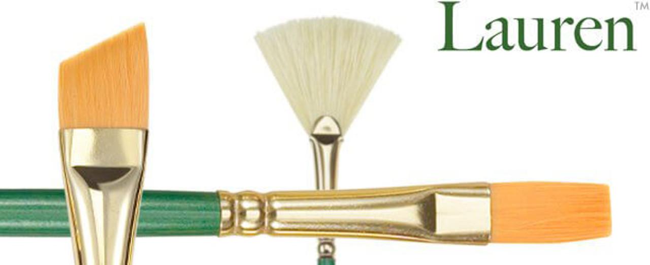 Lauren Golden Synthetic Watercolor & Acrylic Brush