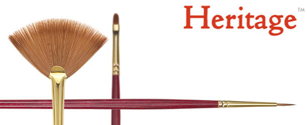 Heritage Synthetic Sable Oil & Acrylic Brush