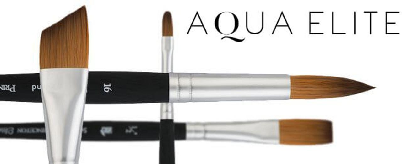 Aqua Elite Synthetic Kolinsky Sable Watercolor Brush