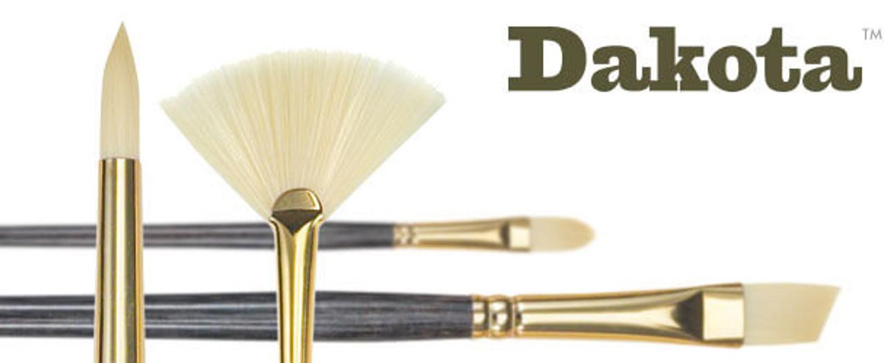 Dakota Synthetic Hog Bristle Oil & Acrylic Brush