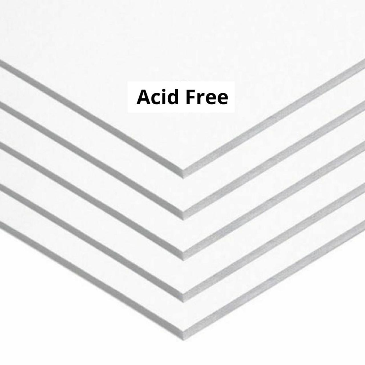 """Acid-Free 1/8"""" White Foamcore Board"""