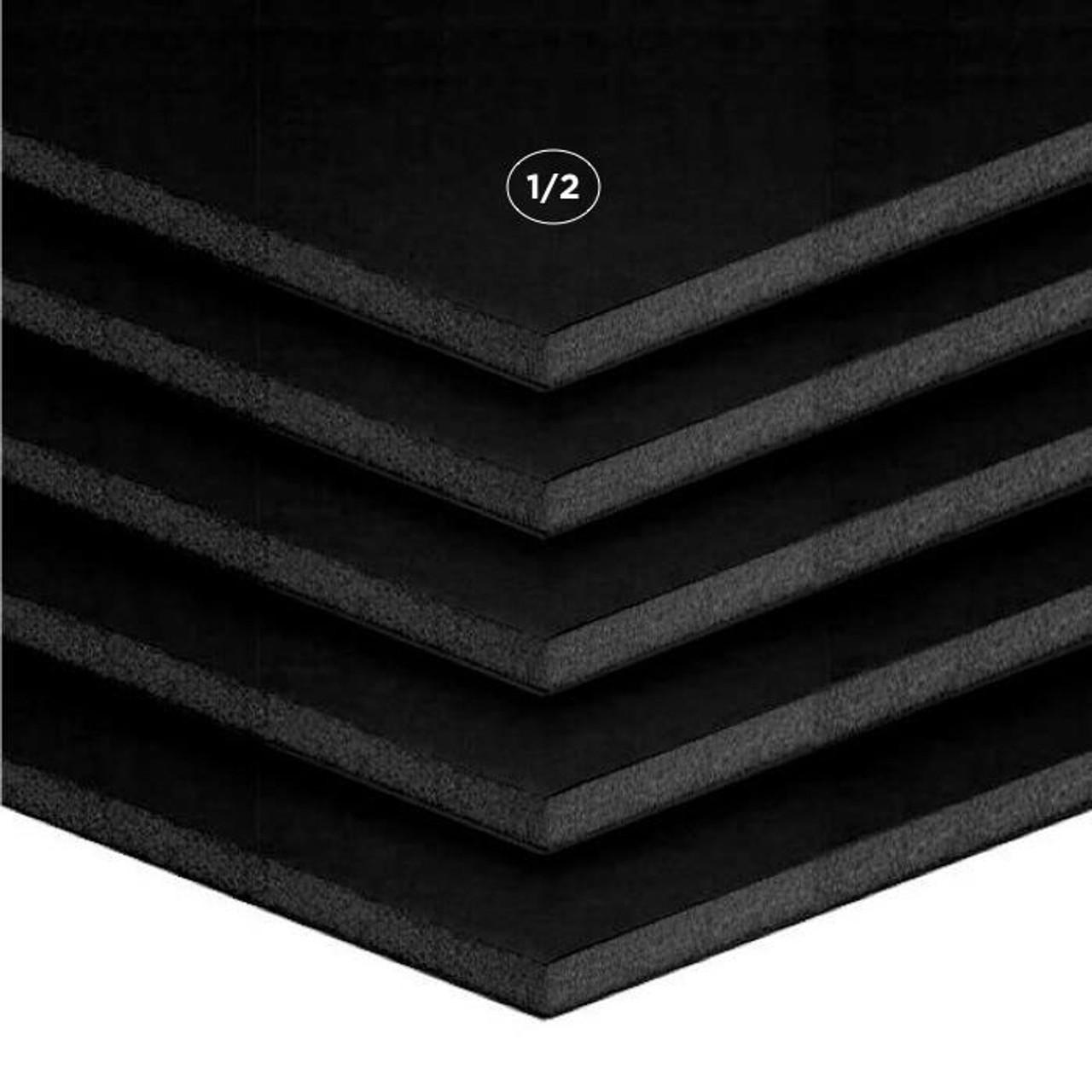 """1/2"""" Black Foamcore Board"""