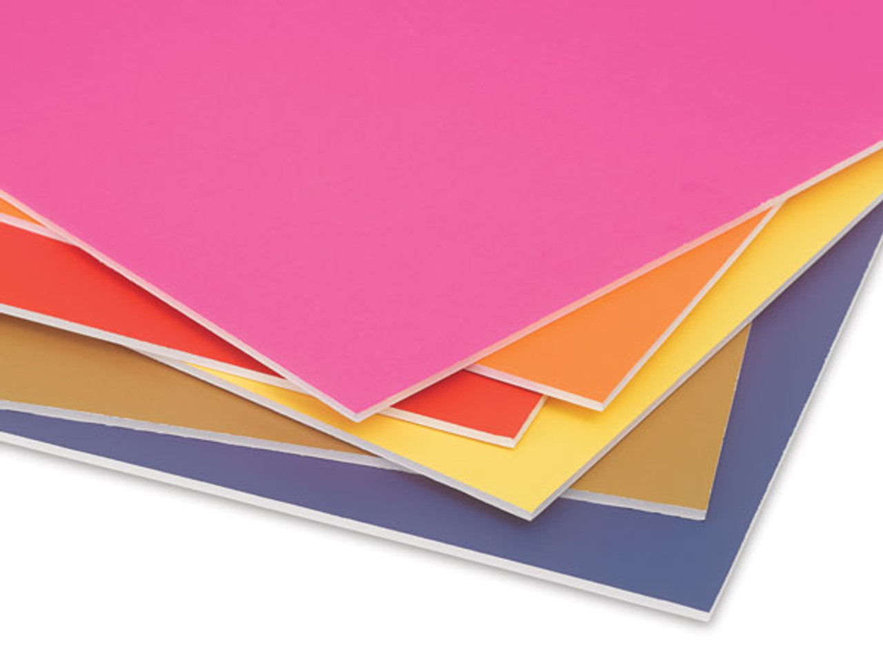 """3/16"""" 20""""x30"""" Colored Foamcore Board"""