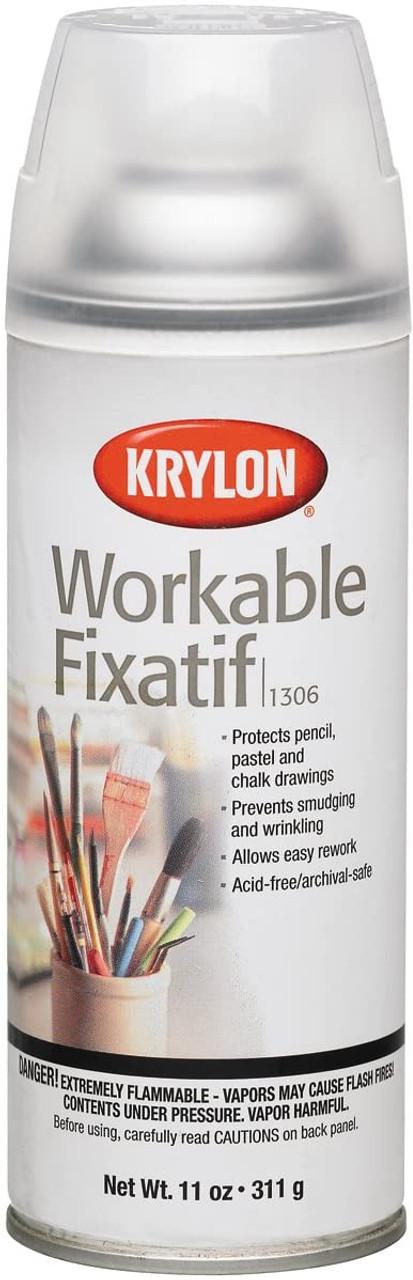 Krylon Workable Fixatif 11oz