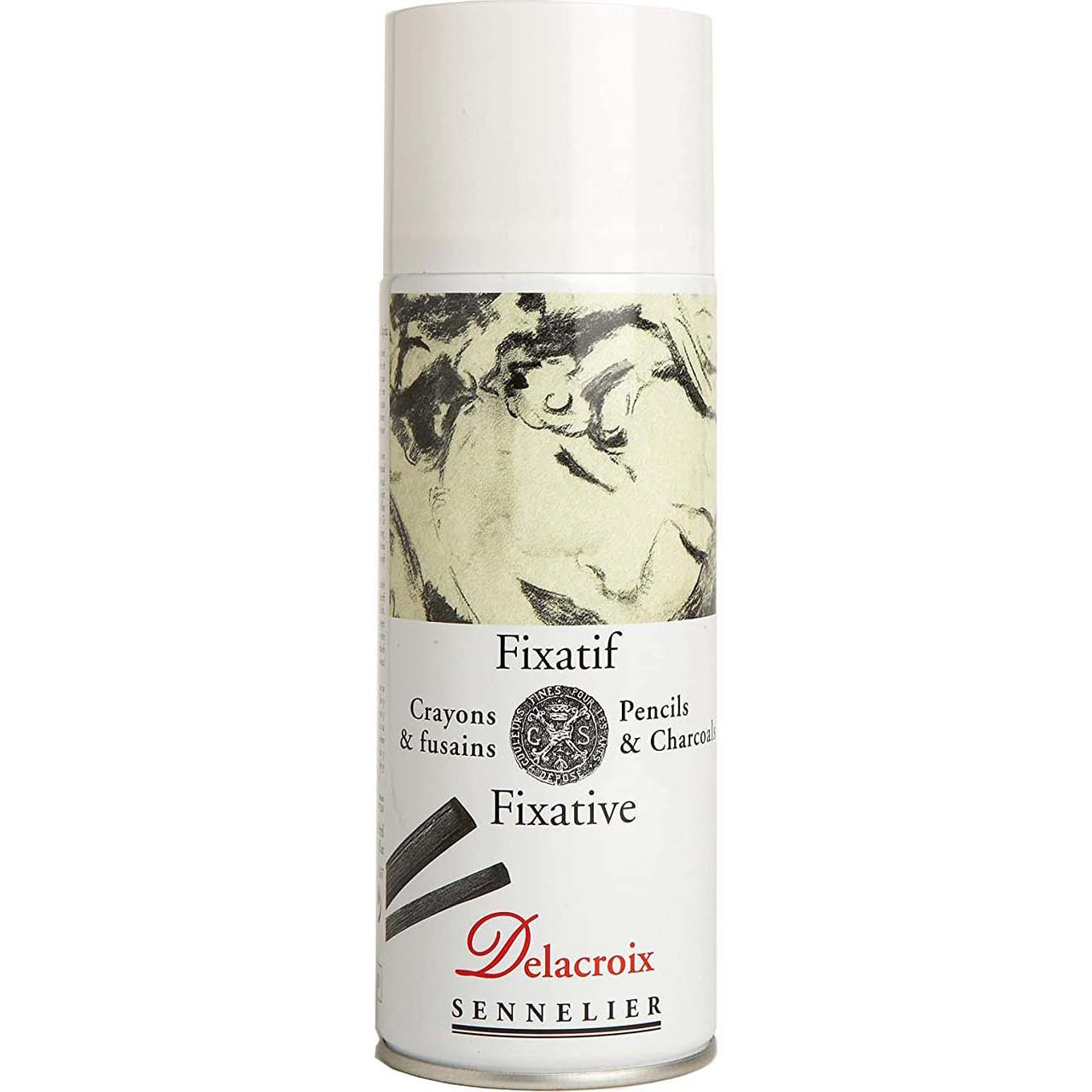 Sennelier Delacroix Fixative 400ml