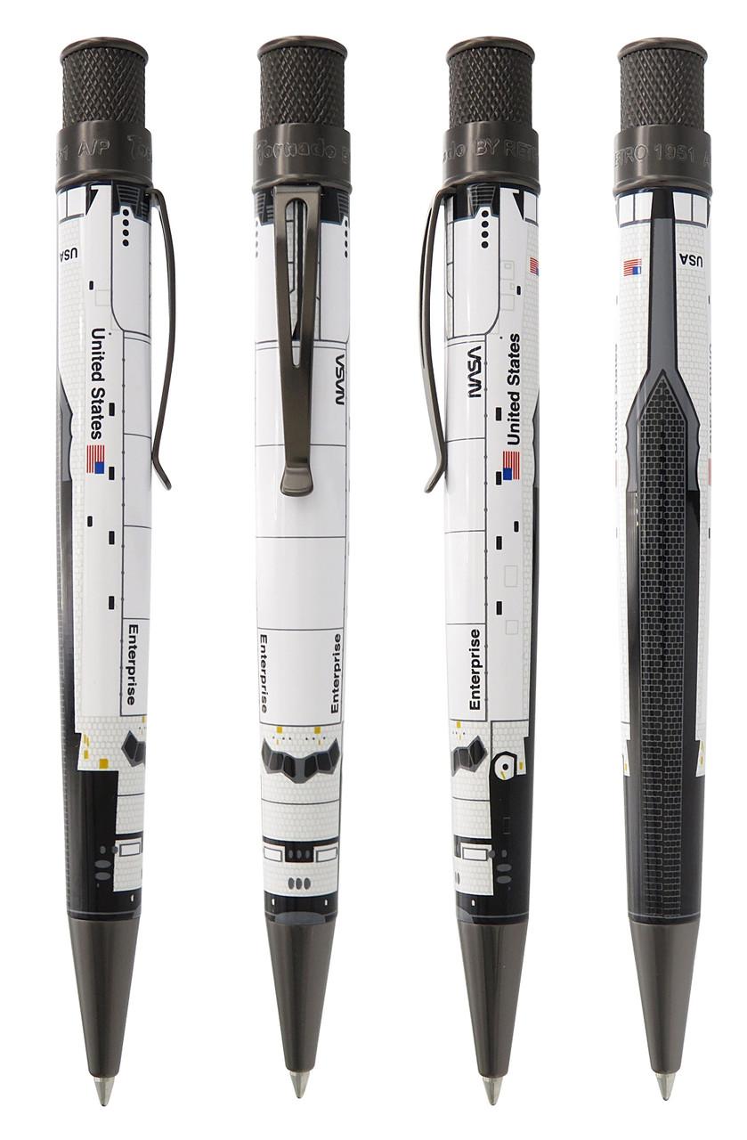 Enterprise Shuttle Tornado Pen with 4 views