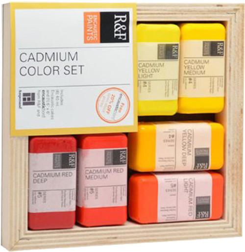 Encaustic Cadmium 7pc Set