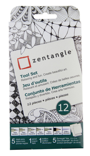 Zentangle Micron 12pc