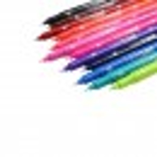 Tombow TwinTone Marker 12-color Set - Bright