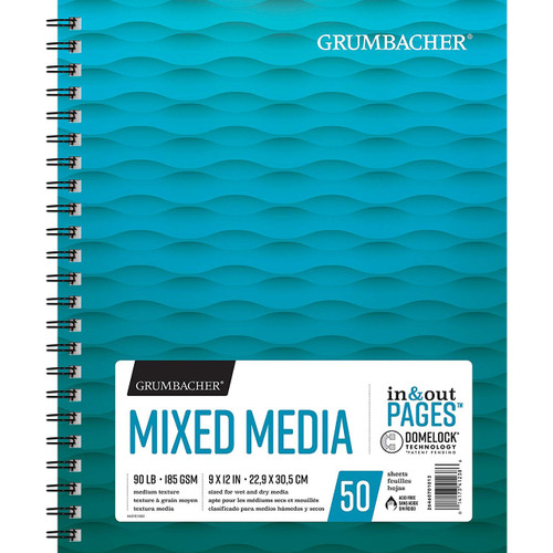 Grumbacher Mixed Media Pad 9x12