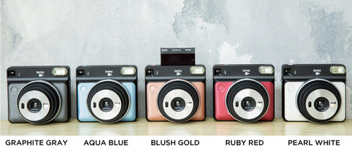 Instax Square SQ6 Camera - Pearl White