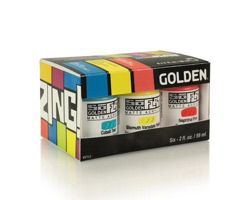 Golden SoFlat Zing Color Set 6pc