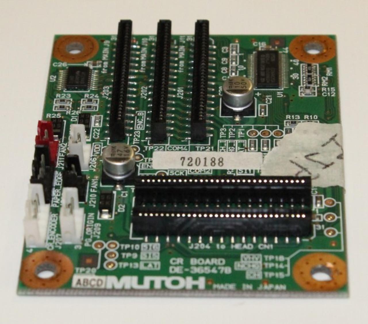 Mutoh ValueJet 1614A/1604 CR Board