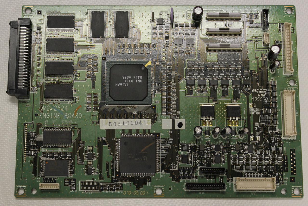Canon W8400 Engine Board