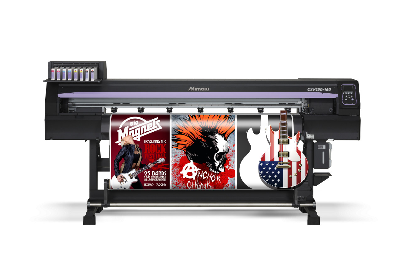 Mimaki CJV150-75 High Quality Cut and Print