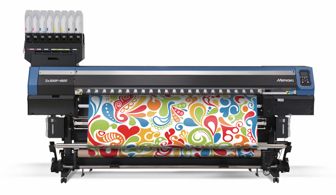 TX300P-1800 MkII wide format direct-to-textile printer